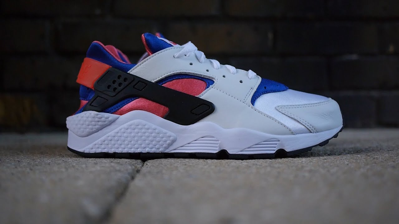 3b0232a4986f1 Air Huarache Run 91 OG Review   On Feet (White