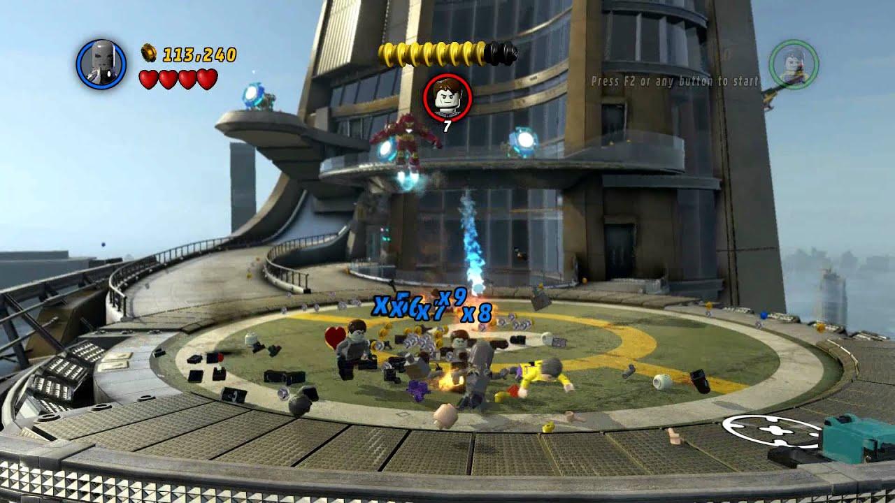 LEGO MARVEL Super Heroes - Iron Man (Mark 1) Kills Toad ...