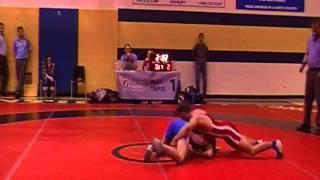 2013 Ontario Senior Championships: 55 kg Chris Waltner vs. Sam Jagas