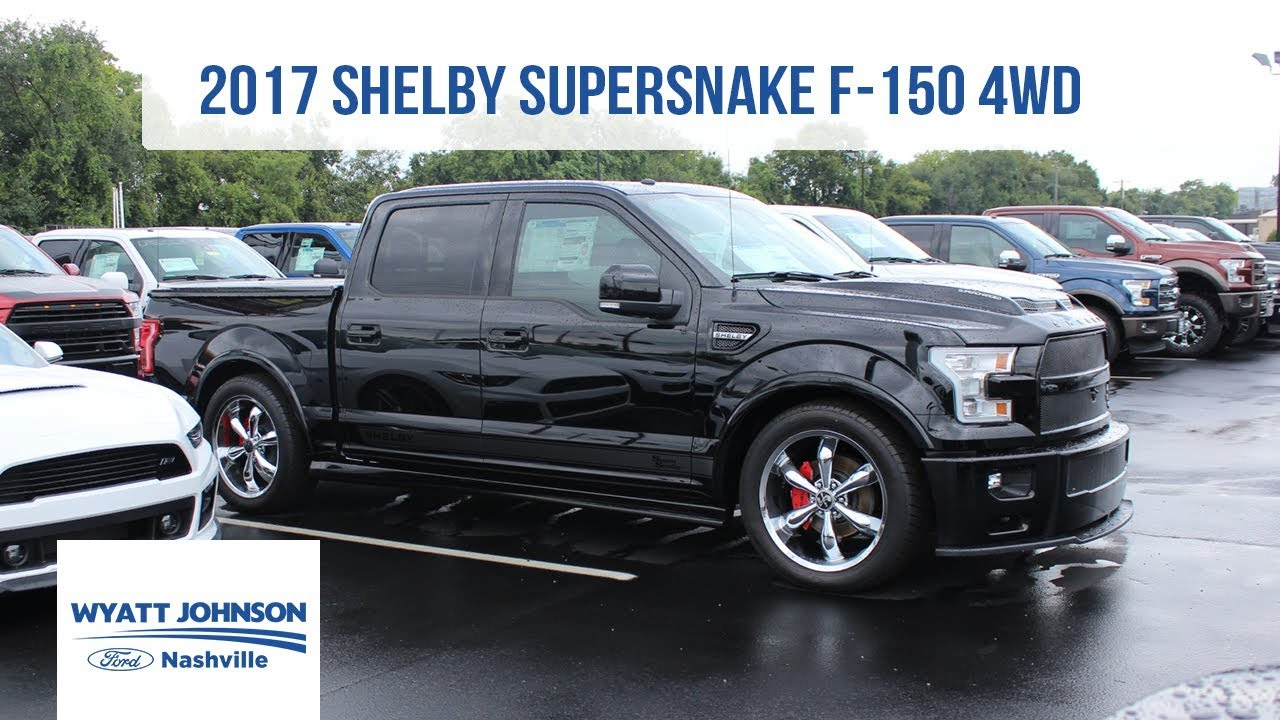 Shelby F150 For Sale >> 2017 Shelby Super Snake F 150 4wd 750hp Supercharged For Sale