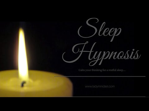 Get a good night's sleep - Hypnosis for sleep and calm thoughts.