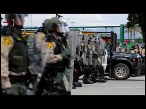 Trump Lifts Ban On Military Gear to Local Police Forces