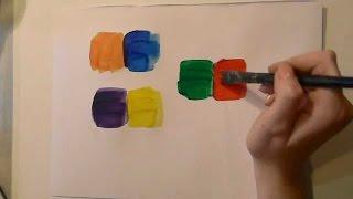 Обучение рисованию - Дополнительные цвета