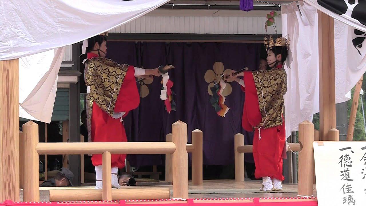 明日の稚児舞-矛の舞-富山県黒部...