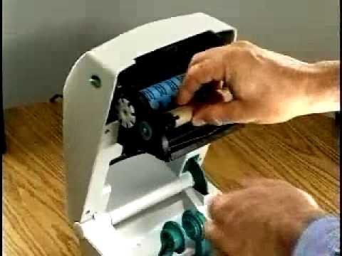 Zebra TLP2844 Label Printer - YouTube