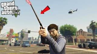 HARRY POTTER w/ WAND - GTA 5 Mods