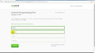 Upwork Android Programming Test