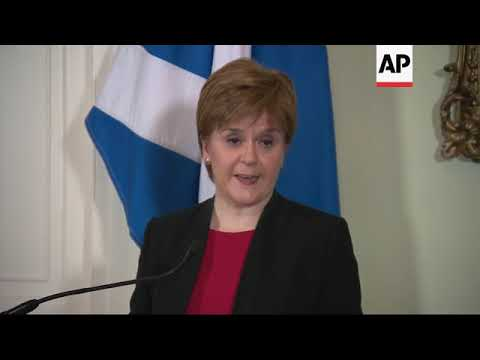 Sturgeon: SNP will vote against May's Brexit deal
