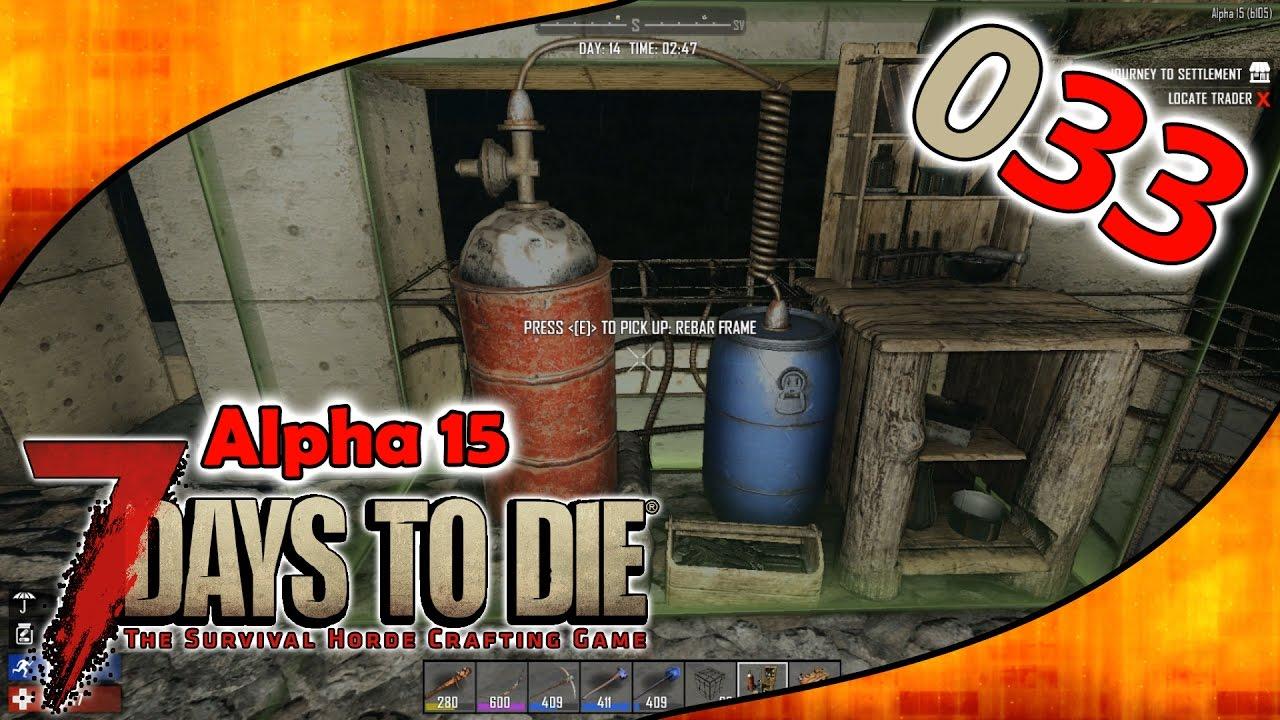 7 Days To Die S02e033 Chemietisch Werkbank Mehr Alpha 15 Gameplay German Deutsch Youtube