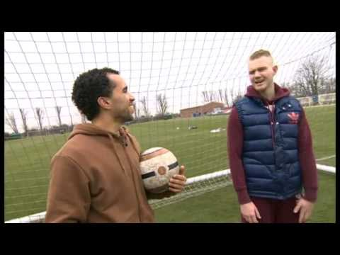 Danny's Pop Star Challenge: Ed Drewett - BBC MOTD Kickabout