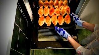 Пирожки в духовке рецепт с рыбой Что как приготовить обед в домашних условиях быстро вкусно видео