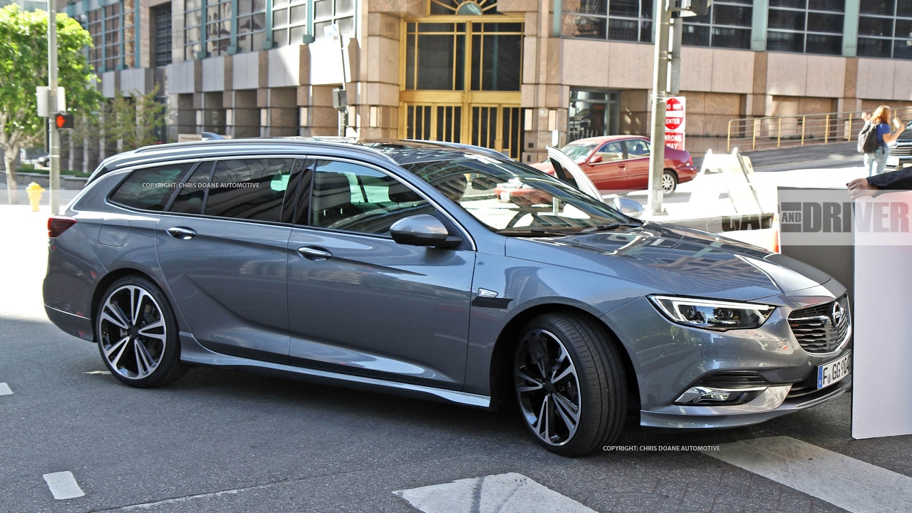 2018 Buick Regal Sedan And Wagon Spied Review