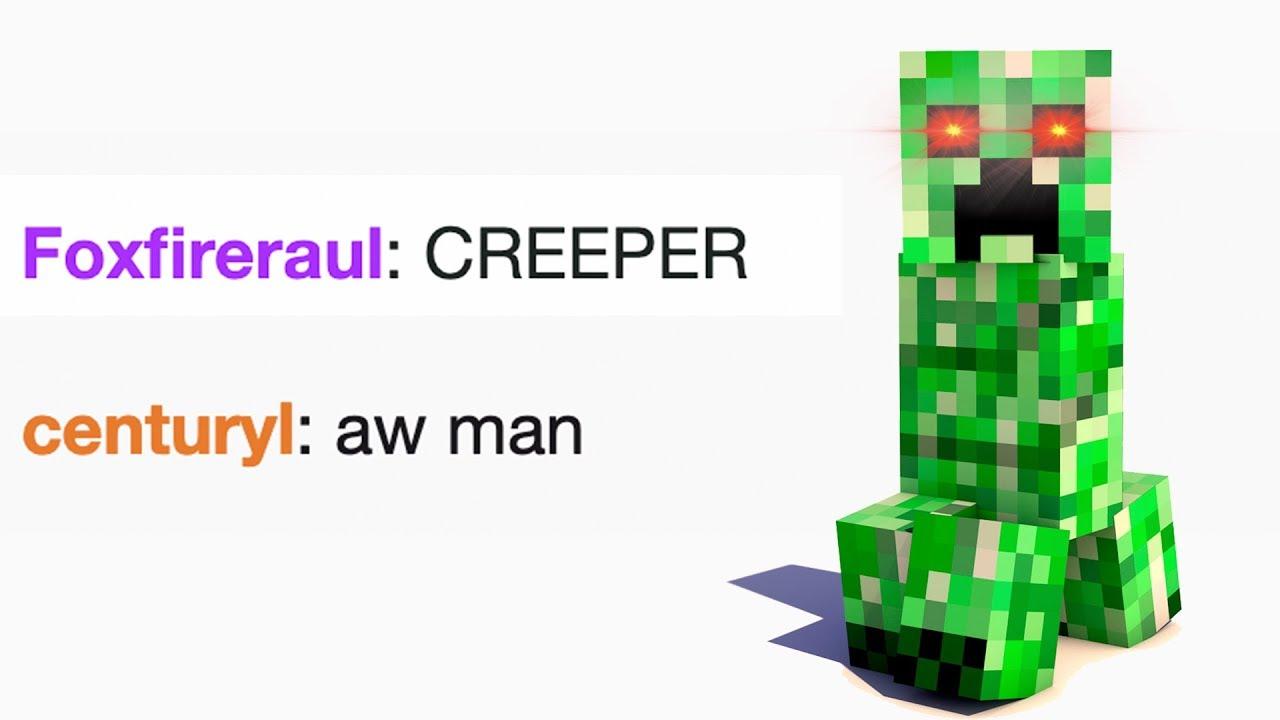CREEPER AW MAN! Versión Español - YouTube