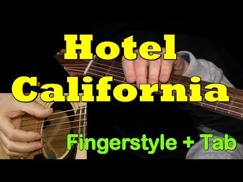 hotel california fingerstyle guitar lesson tab by guitarnick youtube. Black Bedroom Furniture Sets. Home Design Ideas