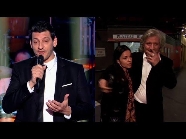 L'humoriste Benjy Dotti rends hommage à la carrière de Patrick Sebastien