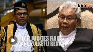 Chief Justice and Court of Appeal president resigns