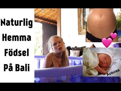VÅR HEMMA FÖDSEL PÅ BALI (FÖRLOSSNINGS VIDEO)