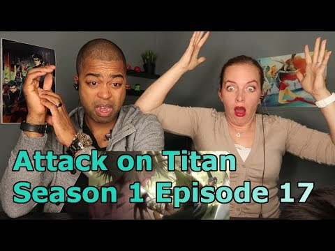 UNCUT Attack on Titan Season 1 Episode 17 (Reaction🔥)
