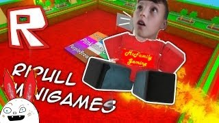 McFamly Gaming - Jim McSim takes on Roblox Ripull Mini Games