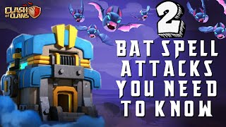 2 BAT SPELL ATTACK STRATEGY YOU NEED TO KNOW IN 2019! TH12 CWL ATTACK STRATEGY | CLASH OF CLANS(COC)