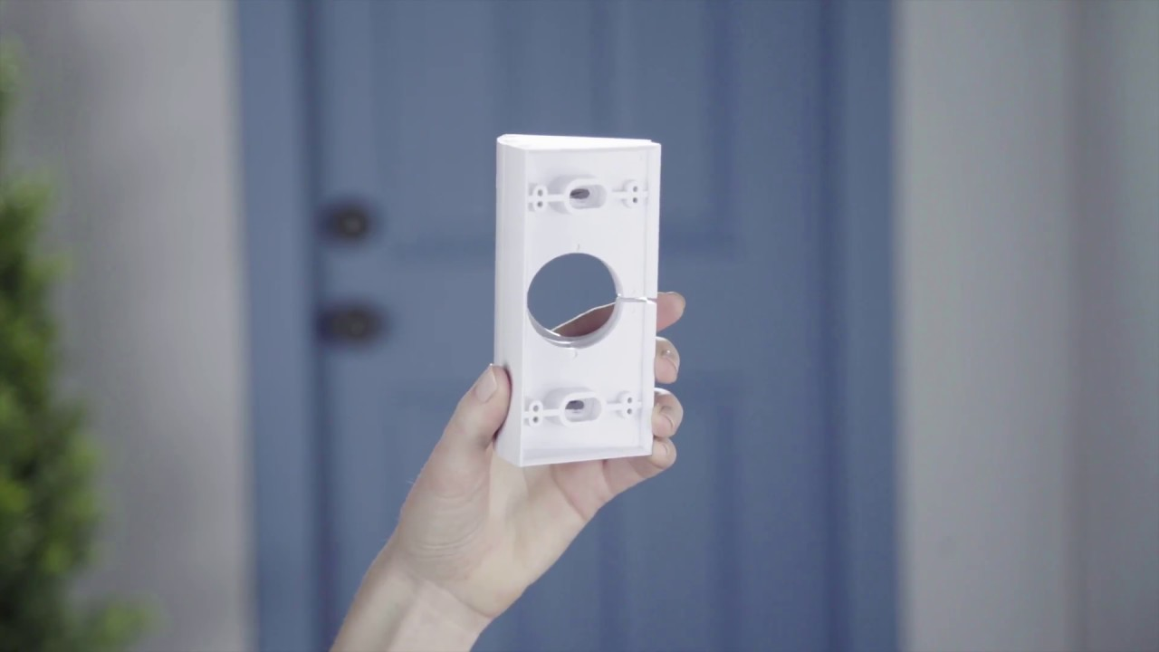 How To Install The Ring Video Doorbell Corner Kit Youtube