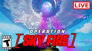 Fortnite Operation Sky Fire LIVE EVENT SEASON 8 (RIGHT NOW)