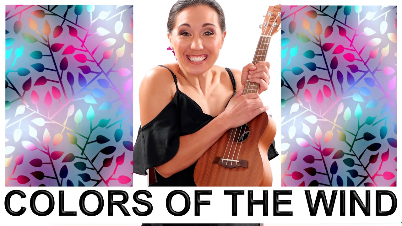 Colors of the Wind - Pocahontas Ukulele Tutorial with Easy Fingerpicking  and Play Along