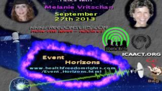 Event Horizons - Dr. Robin Falkov & Melanie Vritschan( EUCACH & ICAACT ) 27/9/2013