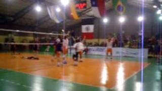 barao blumenau voleibol ultimo ponto copa manquehue 2005