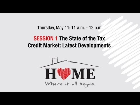 2017 Housing Forum webcast: The State of the Tax Credit Market