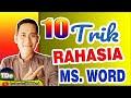 10 Trik Rahasia Besar Bekerja Cepat Dengan Menggunakan Microsoft Word