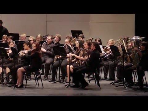 Western Harnett HS Symphonic Band - A Little Tango Music - Adam Gorb