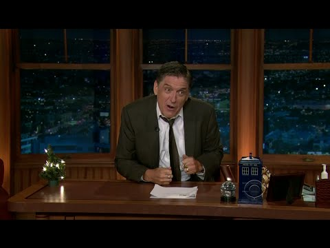 Late Late Show with Craig Ferguson 12/23/2011 Christmas Email Spectacular