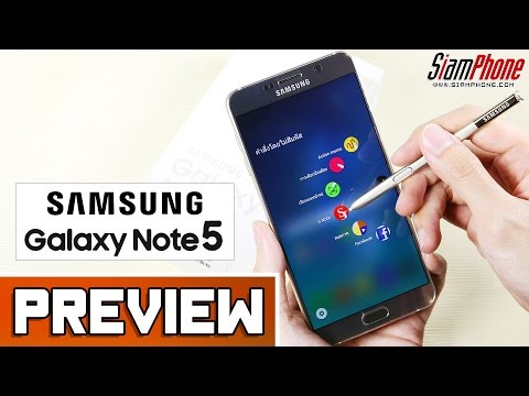 [Preview] : Samsung Galaxy Note 5 by SiamPhone
