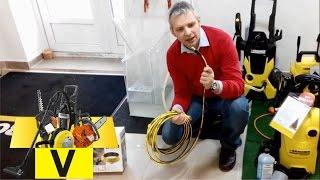 шланг прочистки  канализации для минимоек Karcher(наглядно как работает шланг прочистки канализационных труб., 2014-12-26T13:30:42.000Z)