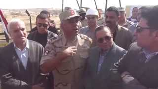 Gen. full minister to the Minister of Irrigation Hoamlkua all I need in the Al-Salam Canal