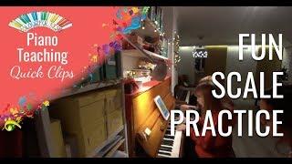 CKQC038: Piano scale practice using the Musiclock iPad app