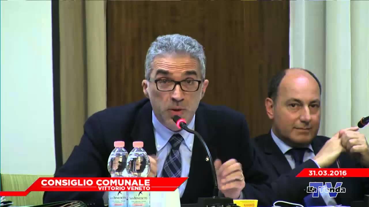 CONSIGLIO COMUNALE VITTORIO VENETO - Seduta del 31.03.2016