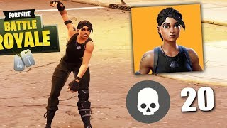 FORTNITE-THE PRO PLAYER SKIN 😂 (LUCKY MATCH)