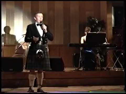 Robert Burns Songs sung by Andrew Fairley