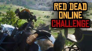 Pferde-Weitflug - Red Dead Online CHALLENGE
