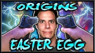🤖'ORIGINS' REMASTERED EASTER EGG WITH BLACK OPS 2 GUNS!!🔥(CALL OF DUTY BLACK OPS 3 ZOMBIES LIVE )