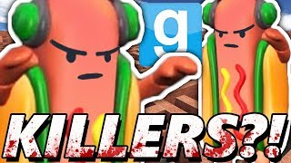 KILLER DANCING HOT DOG?! | Garry's Mod Maze Run CHALLENGE