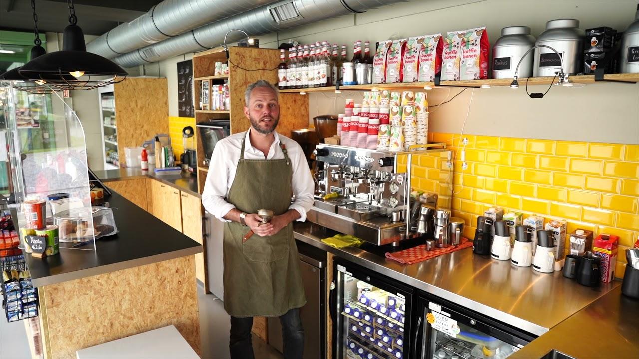 De koffie van Coffee-star
