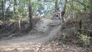Mountain Biking at Lake Bryan, TX