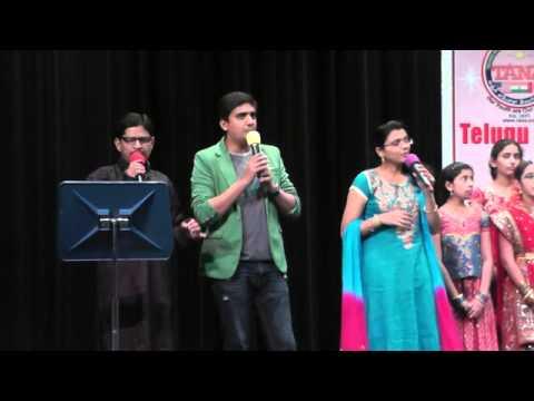 GanaNayakaya song opening LMA concert in Dallas 2014 March 15th