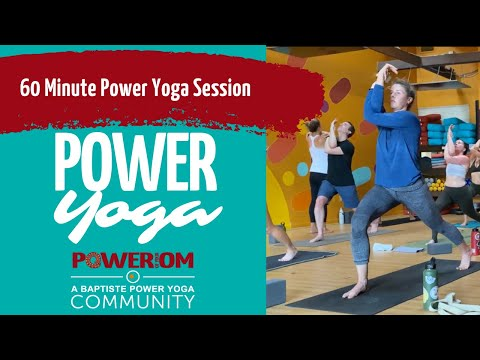 60 minute Journey Into Power Yoga | Santa Barbara Yoga