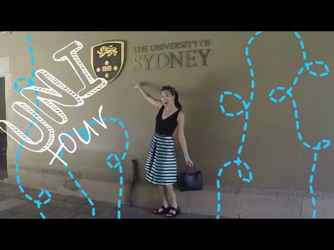 My University of Sydney - Favourite Places Tour | SYDNEY VLOG