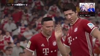 BAYERN DE MUNICH VS ARSENAL EN VIVO | DONACIONES ESTRELLA DE NANO GAMER Y THE ORIUX