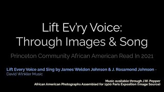 Lift Ev'ry Voice: Through Images & Song